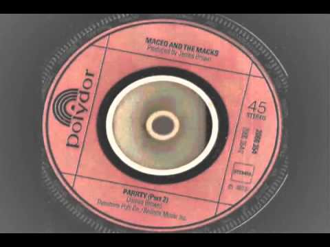 Maceo and the Macks   PARRTY part 1   2   Polydor records   YouTube