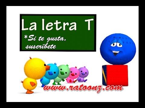 La Consonante T y Las Vocales A E I O U, Canción y Cuento Infantil Educativo- La Pelota Loca