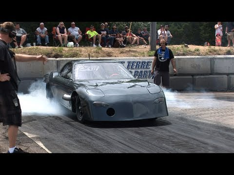 WICKED Big Tire TURBO RX7 - Horsepower For Hope