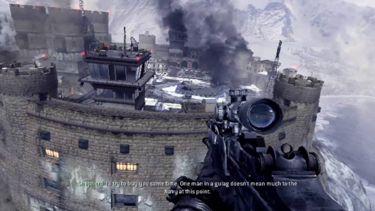 Lets Review Call of Duty Modern Warfare 2 Multiplayer Maps Map 11 .
