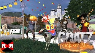 Goat Simulator GoatZ: Trick Or Bleat - New Halloween Update - iOS / Android Gameplay