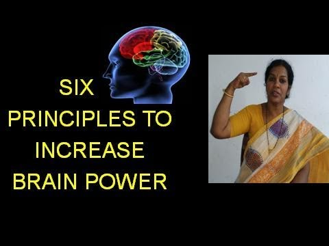 6 PRINCIPLES TO INCREASE MIND POWER
