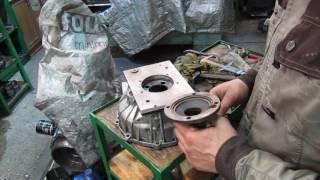 переходная плита ом616 мерседес и прощание с уазовским мотором