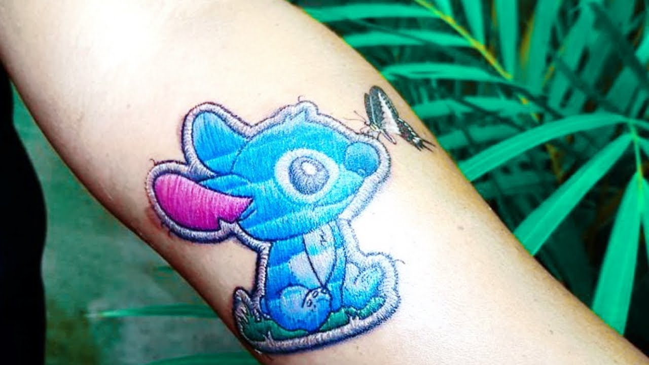 Stitching Tattoo: Embroidery Tattoos That Will Make You Want To Get Inked