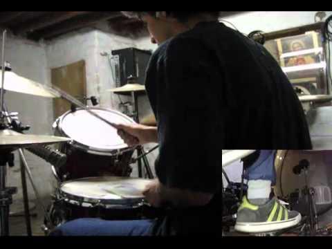 Captain Tyin Knots vs. Mr. Walkway (No Way) - Sleeping with sirens [Drum Cover]