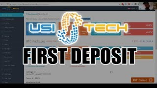 USI Tech First Deposit & Package Purchase