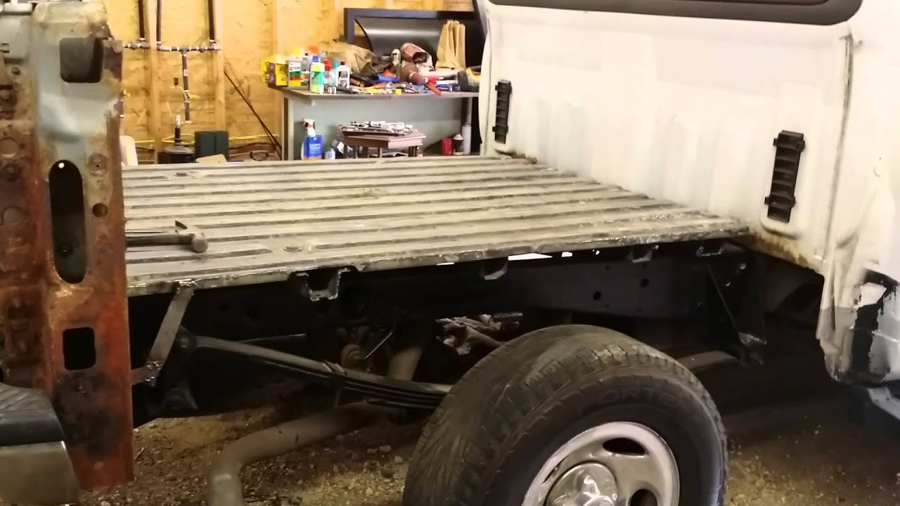How To Remove Rust From Truck Bed