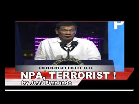 NPA, TERRORIST