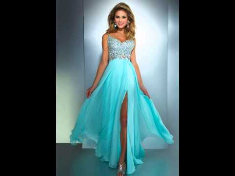 15 baby blue prom dresses ❤