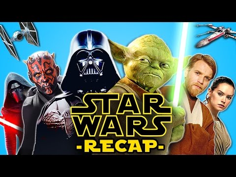 STAR WARS IN 1 TAKE IN 6 MINUTES