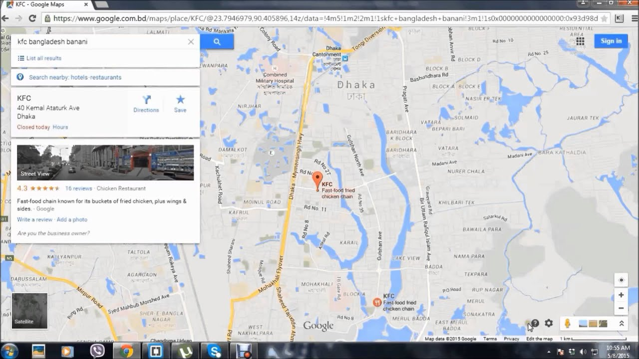 Insert google maps in website using HTML - YouTube