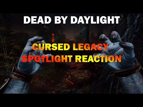 """Dead By Daylight Cursed Legacy Spotlight Reaction """" I'm Excited ! """"  """
