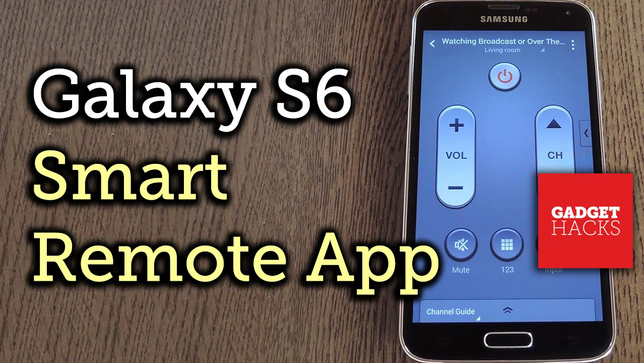 Get the New 'Smart Remote' App from the Samsung Galaxy S6 on