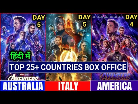 Avengers Endgame Box Office Collection, Avengers Endgame Worldwide Collection, Avengers 4 Collection