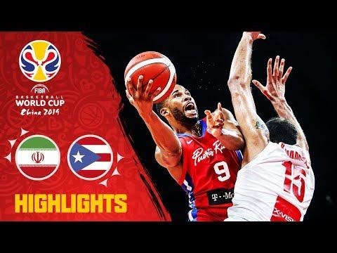Iran v Puerto Rico - Highlights - FIBA Basketball World Cup 2019