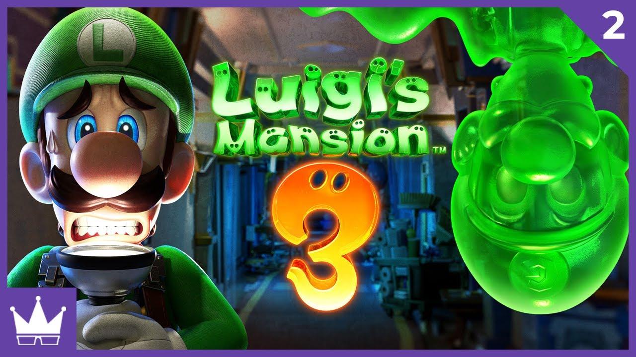Twitch Livestream Luigi S Mansion 3 Part 2 Switch