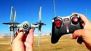 Star Wars TIE Fighter Drone Flight Test Review