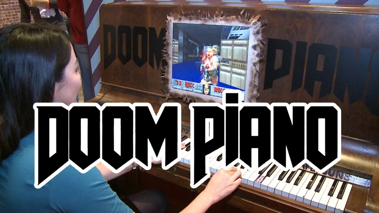 Download Doom Piano at Eurogamer Expo 2013 - Outside Xbox