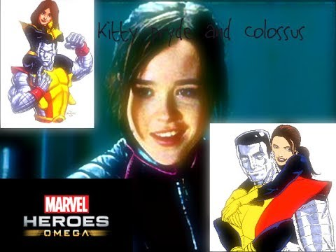 Kitty Pryde and Colossus Marvel heroes omega livestream