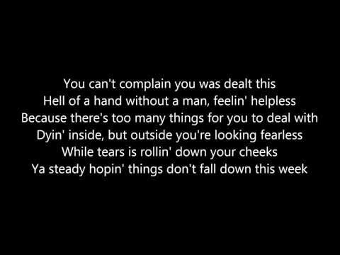 2Pac - Keep Ya Head Up (Lyrics on Screen)