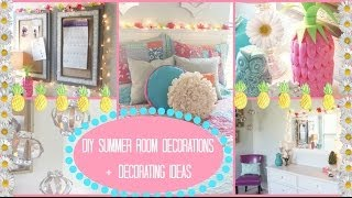 Fashionistalove22 Diy DIY Summer Room Decorations