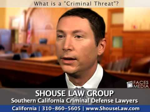 """southern-california-attorneys:-what-is-a-""""criminal-threat?"""""""