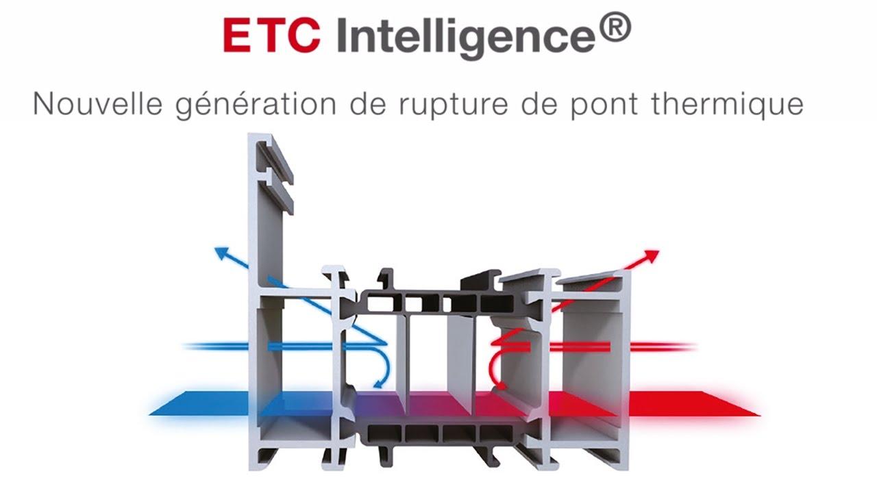 ETC Intelligence - Nouvelle génération de rupture de pont thermique