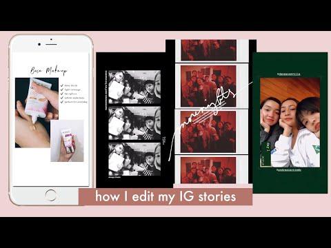 How I Edit My Instagram Stories | Ry Velasco