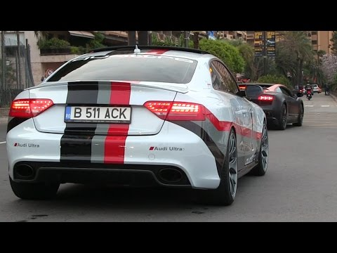 LOUD Audi RS5 w/ Custom Exhaust in Monaco