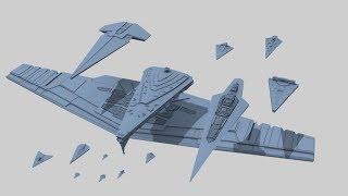 Star Destroyer Size Comparison (Star Wars Legends + Canon)