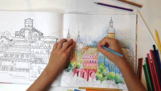 Speed coloring: Удивительные строения(http://www.mann-ivanov-ferber.ru/books/udivitelnye-stroeniya/ Книга-раскраска с самыми красивыми и необычными сооружениями и зданиями..., 2016-03-23T08:05:25.000Z)