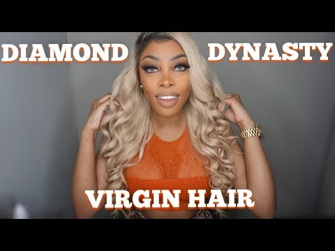 Blonde Hair From Diamond Dynasty Virgin Hair Company Ashley