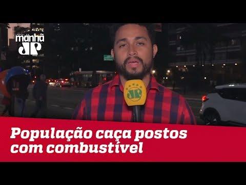 População Caça Postos Com Combustível Em SP   Jornal Da Manhã
