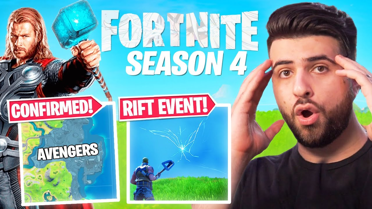 HUGE FORTNITE SEASON 4 TEASERS! (EVERYTHING EXPLAINED!) thumbnail
