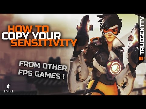 mouse first person shooter - How to equalize in-game sensitivity