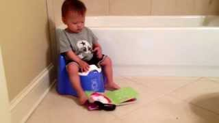 Potty Training with ToddleGreen Flushable Potty Liners