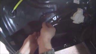 audi a3 8p 2007 wymiana zamka w drzwiach kierowcy