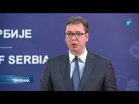 Vučić: Ne možemo da prihvatimo ponižavanje; Tusk: Srbija sama odlučuje o budućnosti