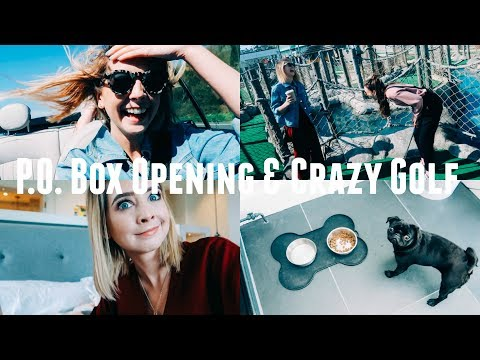 P.O. BOX OPENING & CRAZY GOLF