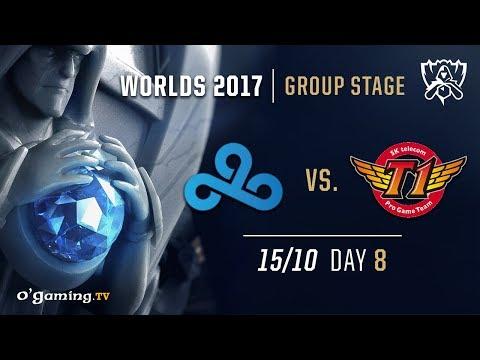Cloud9 vs SKT T1 - World Championship 2017 - Group Stage - Day 8 - League of Legends