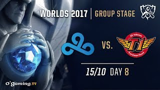 Cloud9 vs SKT T1 - World Championship 2017 - Group Stage - Day 8 - League of Legends