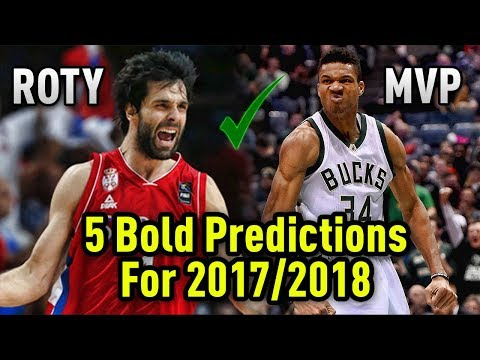 5 BOLD NBA Predictions For The 2017/2018 Season!