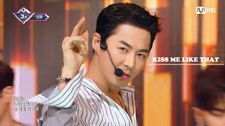 신화(SHINHWA) - Kiss Me Like That 교차편집(STAGE MIX)