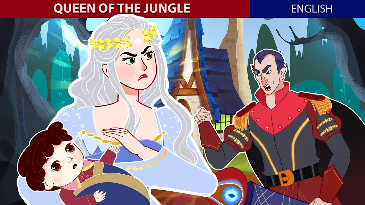 Queen Of The Jungle Story | Stories for Teenagers | ZicZic English – Fairy Tales