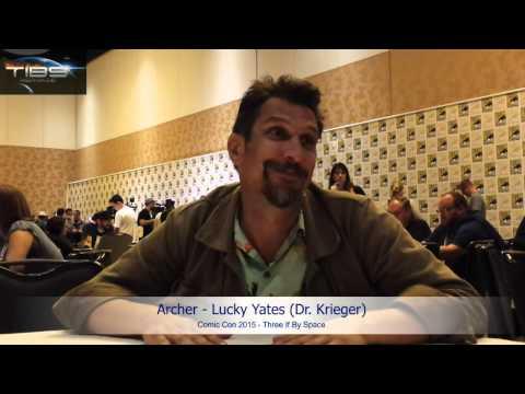 SDCC 2015  Archer's Lucky Yates Inside Krieger's Mind