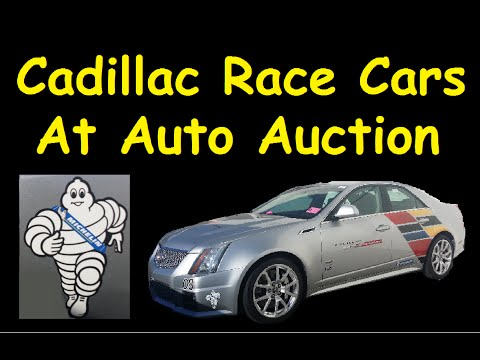 3500 Vehicle Auto Auction Video Cadillac Race Car Preview & More