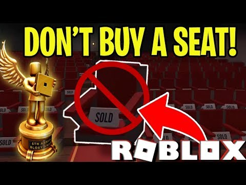 Http Bloxysite Roblox Free Robux Roblox Free Login And Why You Shouldn T Buy A Seat At The Bloxy Awards Roblox Youtube