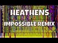 Download IMPOSSIBLE REMIX - Heathens - Twenty One Pilots - Piano Cover MP3 song and Music Video