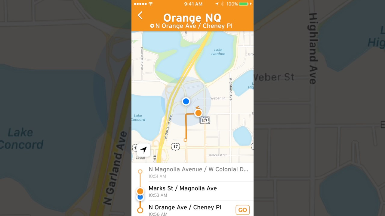 Transit App With Realtime Tracking vs Scheduled Location