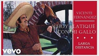 Vicente Fernández - Larga Distancia  - Cover Audio